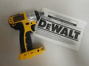 Dewalt 18v 18 Volt Cordless Impact Driver Wrench 1 2 Socket Drive Dc820 Dc820b