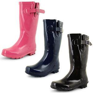 Girls Wellington Boots Kids Juniors Festival Rain Snow Winter
