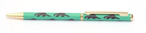 Otter Beaver Ball Point Pen Black Ink Retractable British Nature Animal Gift