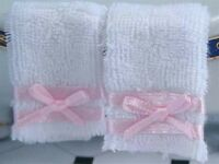 Set Of Two Towels Dolls House Miniatures Bathroom Kitchen