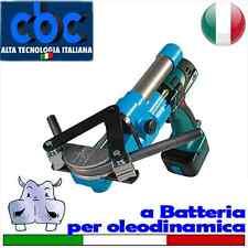 Curvatubi idraulica a batteria per oleodinamica 8 forme (10-12-14-15-16-18-20...