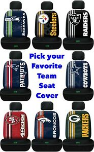 NFL-Team-Logo-Printed-Car-Seat-Cover-Offically-Licensed