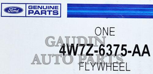 FORD OEM-Clutch Flywheel 4W7Z6375AA