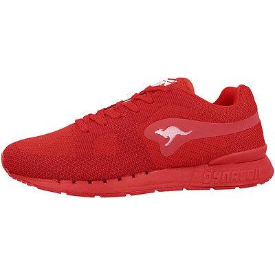 KangaROOS Coil-R1 Woven Schuhe Sneaker Laufschuhe flame red 47189-670 Floater
