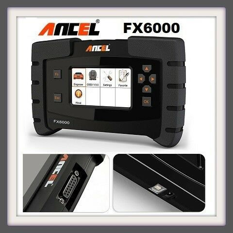 Auto code scanner ANCEL FX6000 OBD2 Scanner Full System OBDII ABS