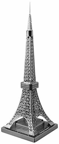 Tenyo Metallic Nano Puzzle Tokyo Tower Model NEW Kit