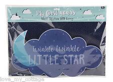 Baby's Night Light Up LED Touch Lamp Nursery Children's Room Twinkle Little Star