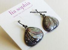 "Lia Sophia ""Seaside"" Hematite Earrings"