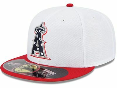 fast delivery cheaper reasonably priced Official MLB 2013 Los Angeles Angels Anaheim July 4th New Era ...