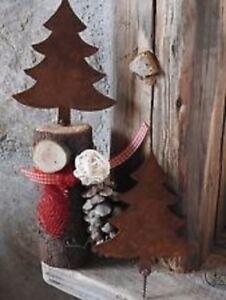 Edelrost Baum Zum Eindrehen Gross Advent Dekoration Weihnachten