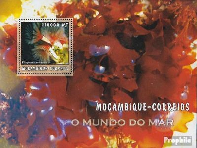 Good Mozambique Block176 Unmounted Mint Africa Stamps Never Hinged 2002 World Of Marine