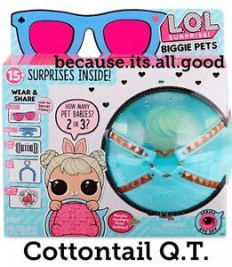 1 Lol Surprise Biggie Pets Wave 2 Cottontail Q T Eye Spy Ball Doll 3