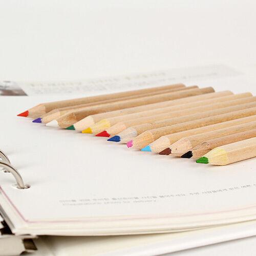 12colors//1set Cute Rilakkuma Small Color Pencil Light Paper Case Drawing 2016ver