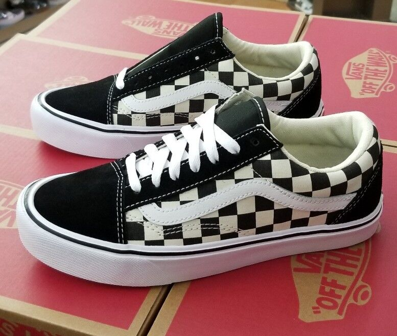 VANS OLD SKOOL LITE CHECKERBOARD schwarz   Weiß MEN VN0A2Z5W5GX