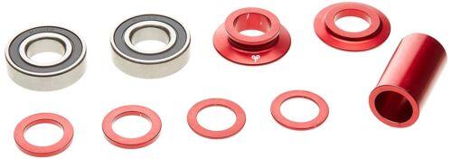 DIAMOND BACK Mid DIMENSION BMX Scellé Pédalier Set rouge 19 mm Essieu