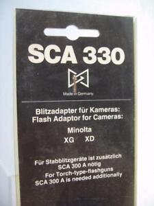 SCA-330-Adapter-for-The-Minolta-XG-amp-XD-Camera-NOS-R