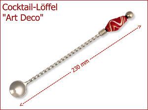 NEU-Cocktail-Loeffel-Design-034-Art-Deco-034-zum-beperlen-Edelstahl