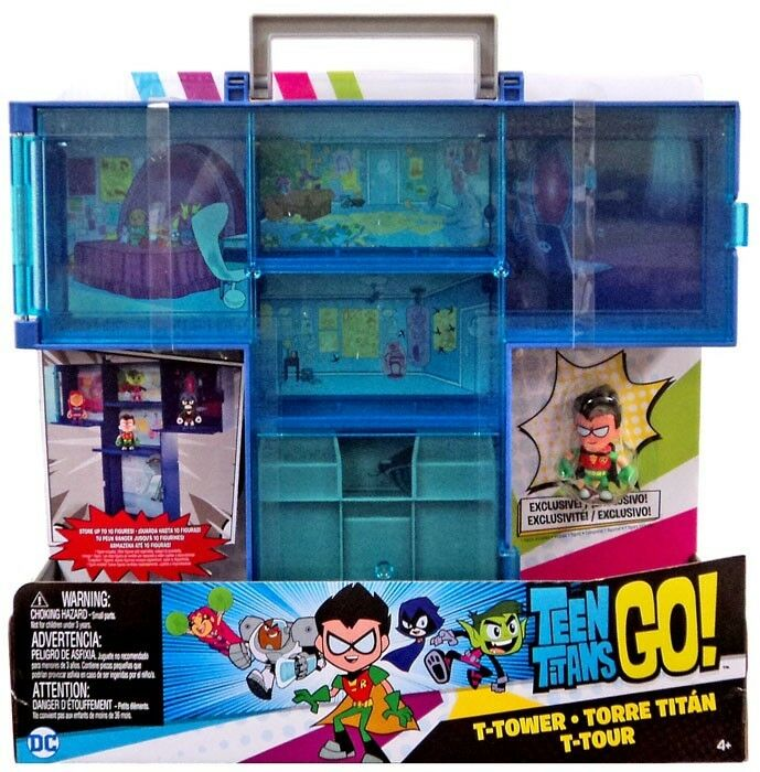 Teen Titans Go  T-Tower Carry Case