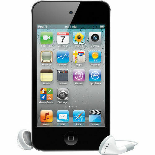 1 of 1 - iPod Touch 4th Generation 8 GB Black MP3 PLAYER 90 Days Warranty-New Sealed