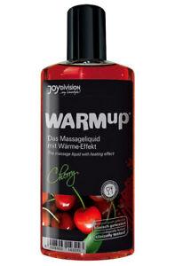 Lotionen & Cremes Warm-up Massageöl Kirsche