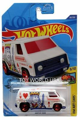 Super Van #68 King Art Cars 9//10 2020 Hot Wheels Case C