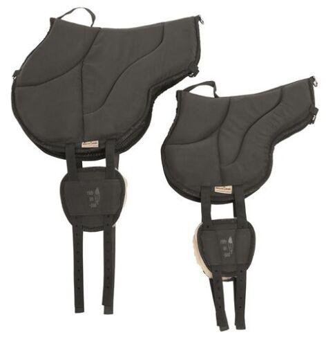 H /& H Celle top Barefoot Ride-On-Pad Pony schwarz Bareback Pad für Kinder