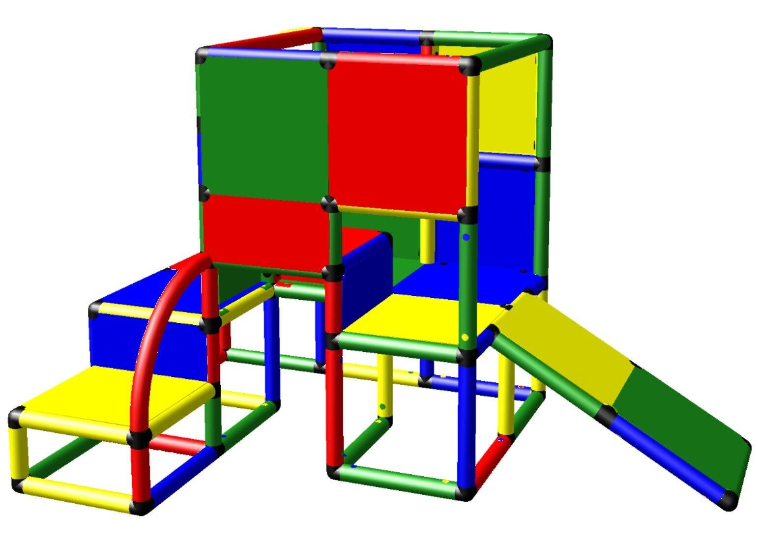 Moveandstic Boîte de Construction Tour à Grimper Maison Jouet 6011 Jeux O.