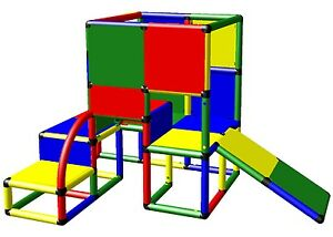 moveandstic baukasten kletterturm spielhaus 6011 spielturm o rutsche. Black Bedroom Furniture Sets. Home Design Ideas