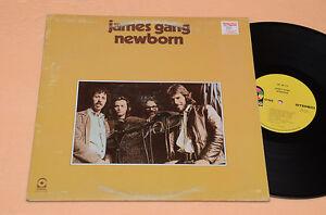 JAMES-GANG-LP-NEWBORN-PROG-1-ST-ORIG-CANADA-1975-AUDIOFILI-TOP-EX