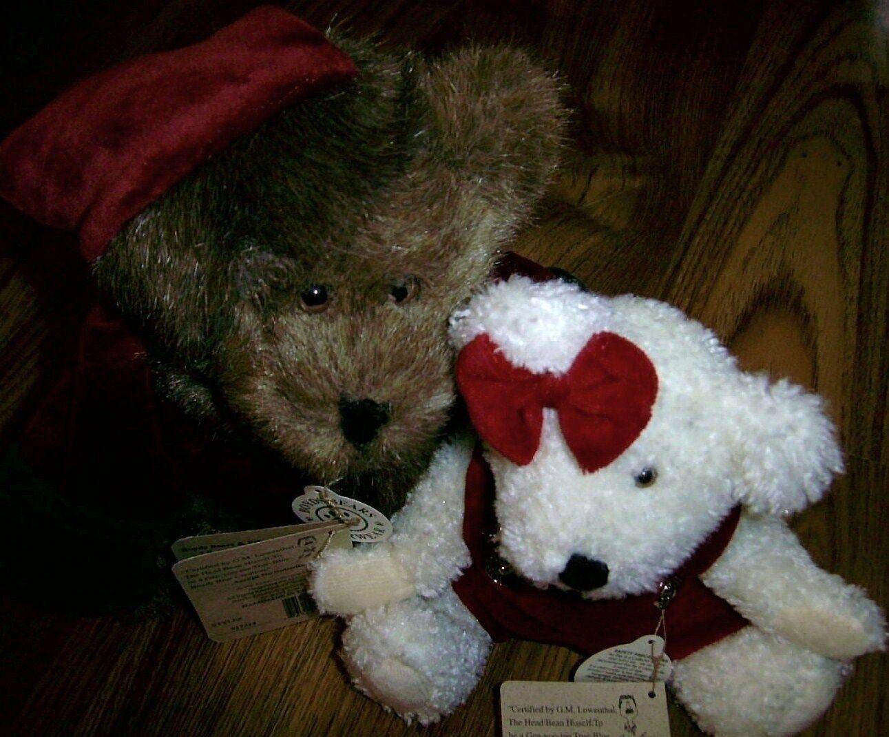 2 BOYDS BEARS & FRIENDS JB BEAN  Mr Baybeary  &  Juliella T. Frostfire  Retirosso