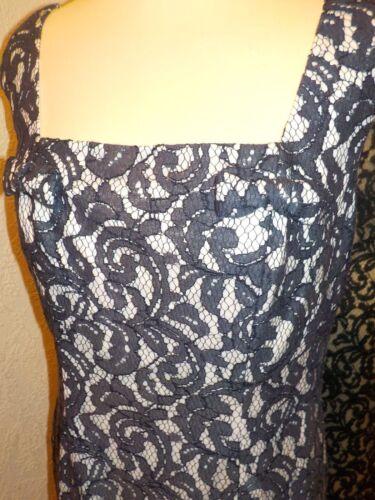 Sg70091 kanten 20 creme Maat Gina jurk Bacconi Navy wXtnqSU