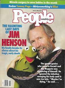 MUPPETS-Master-JIM-HENSON-June-18-1990-PEOPLE-WEEKLY-Magazine-Farewell-Issue