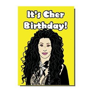 Cher Greetings Card