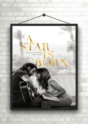 A Star Is Born Large Movie Poster Art Print A0 A1 A2 A3 A4 Maxi