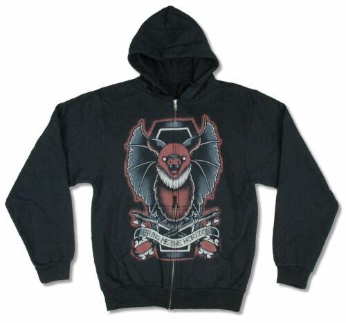 Bring Me The Horizon Bat Black Zip Up Sweatshirt Hoodie New Official BTMH