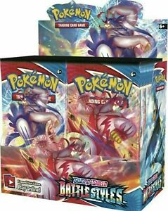 BATTLE STYLES BOOSTER BOX 36 PACKS | Factory Sealed Pokemon Presale 03/19/2021