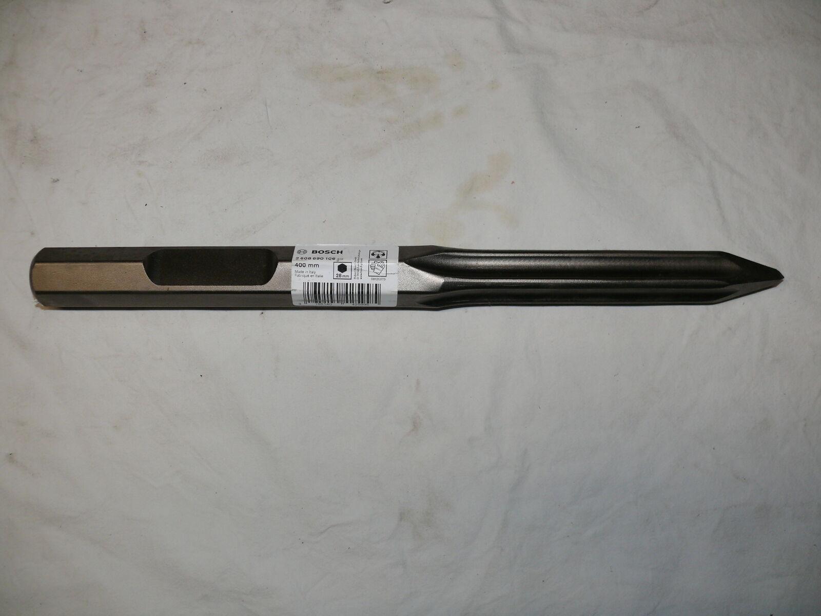 BOSCH Spitzmeißel 400 mm 2608690106 selbstschärfend für USH GSH 27 VC GSH 16-28