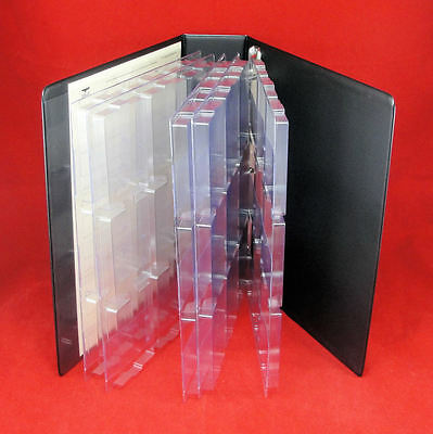 3 Page Eagle Slab Album for Certified Coin Slabs Holds Up to 27 PCGS NGC Slabs