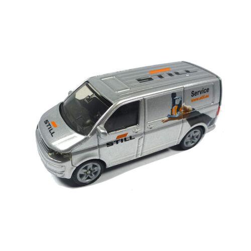 """Siku 1338 VW T5 Transporter /""""Todavía/"""" Plata ° Blister Coche a Escala Nuevo"""