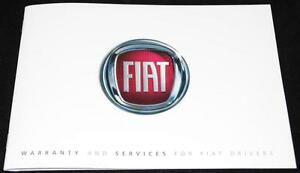 General-Fiat-Service-History-Warranty-Book-Manual-New-and-Genuine-60395957