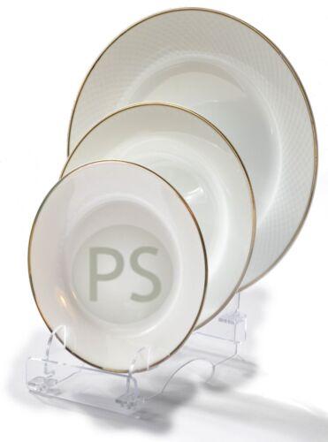 Présentoir Assiette ou Vaisselle : 3 Pièce de Plastique Trio Support