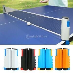 Einziehbares table tennisnetz Mesh Portable Table tennisnetz Rack Easy Extend