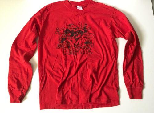 Vintage Mental Hardcore/Punk Band Long Sleeve Shir