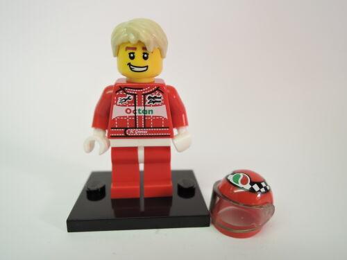 Lego Figur Sammelfigur Serie 3 Nr 11 Rennfahrer  kpl Platte COL040