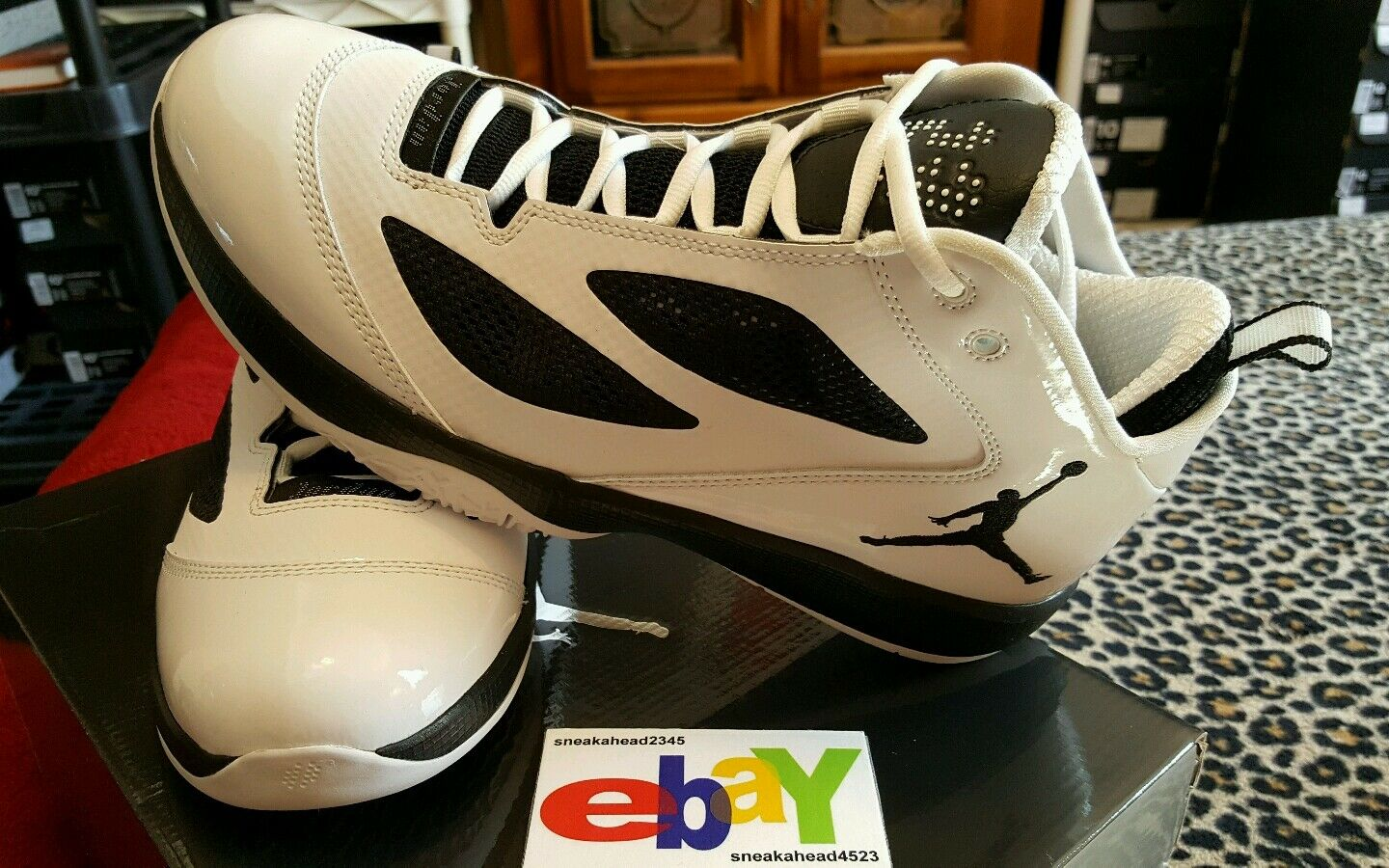 Air Jordan 2011 Q Flight 2 9 11 WHITE BLACK  454486 103 2018
