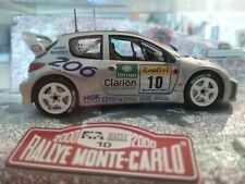 1:18 norev peugeot 206 RC rojo red nuevo New