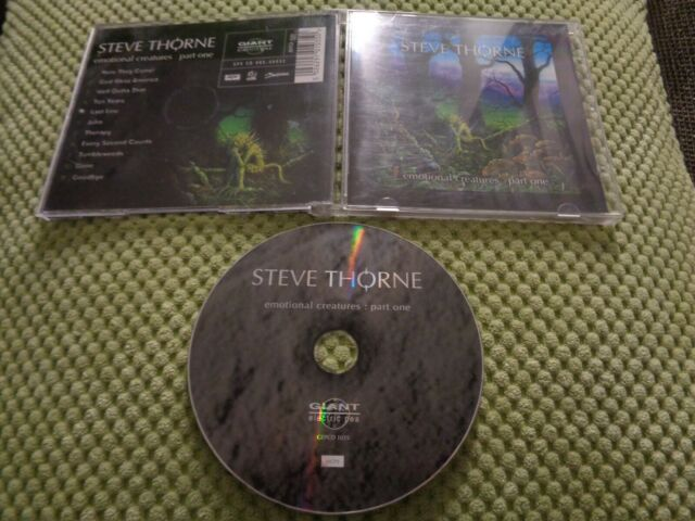 STEVE THORNE - EMOTIONAL CREATURES PART ONE CLEPSYDRA PENDRAGON PALLAS BLIND EGO