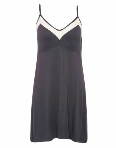 Freya Night Dreams Sweet Chemise dress aa4837 small uk Loungwear 10 Charcoal g e wqBpZwa6