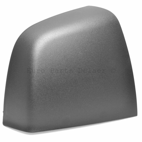 Fiat Doblo 2010-2019 Driver side Mirror Cover Replacement Right Black Wing cap