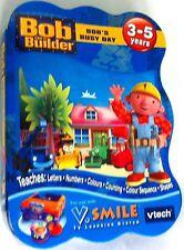 Vtech V. smile Bob El Constructor Bob's día ocupado Cartucho De Juego Aprendizaje de TV 3-5 años